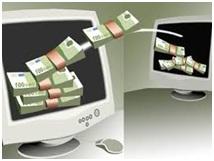 Automação comercial - Banco online - Transferência de dinheiro