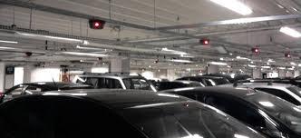 Automação comercial - Sensor em vagas de estacionamento